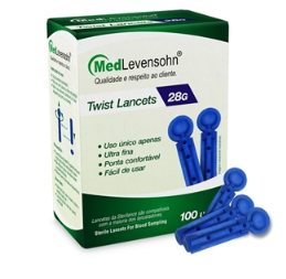Twist Lancets 28G - Ortopedia Online SP